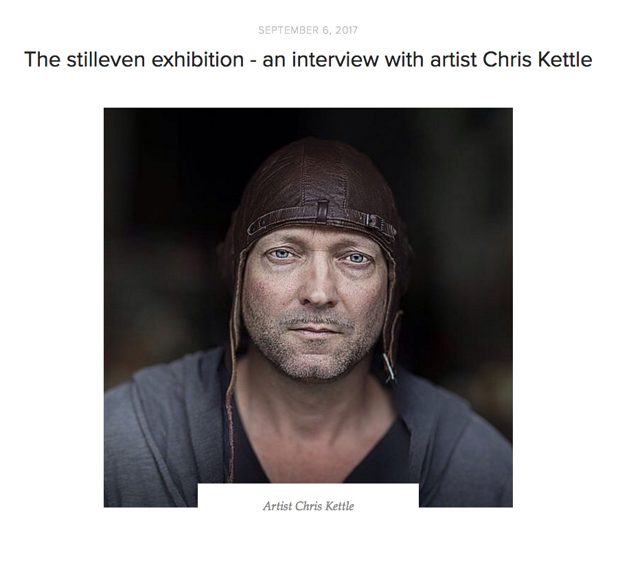 The Stilleven Exhibition – An Interview With Artist Chris Kettle