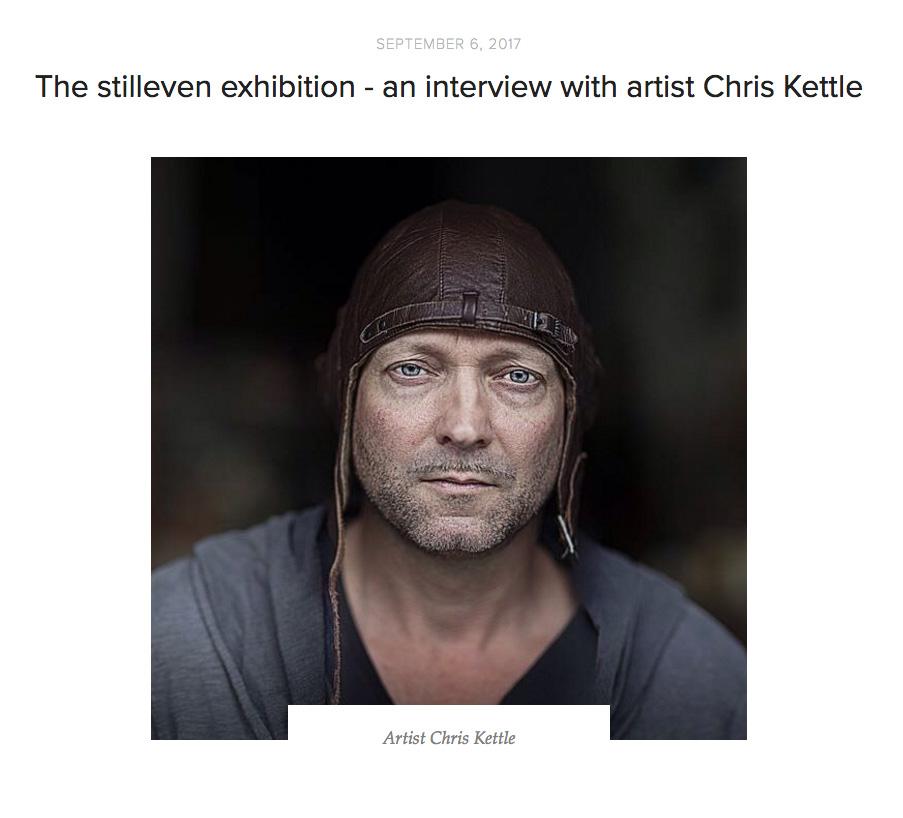 Stilleven Exhibition Interview With Artist Chris Kettle